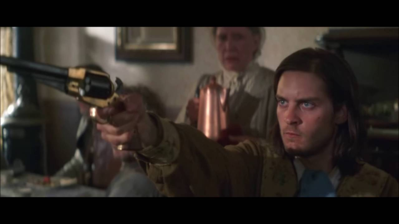 ride with the devil tobey maguire saloon scene youtube