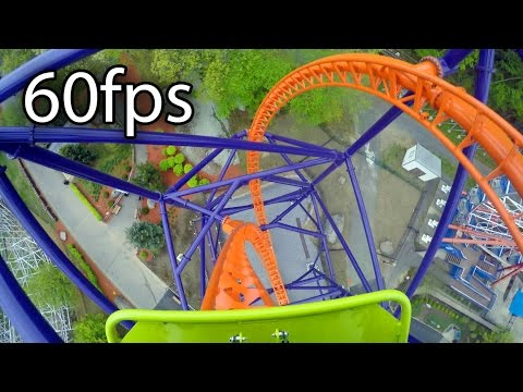 Phobia Phear Coaster Front Seat On-ride HD POV @60fps Lake Compounce