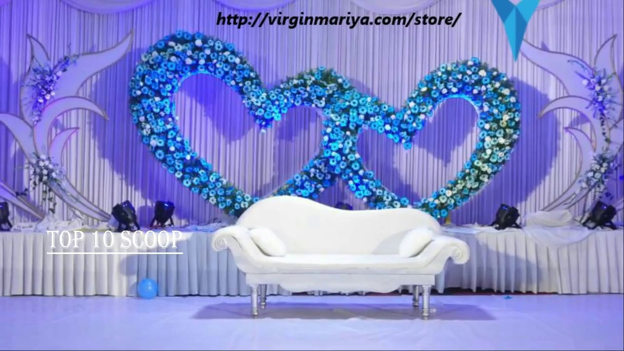 best wedding stage decoration top 10 wedding stage decoration ideas 1692