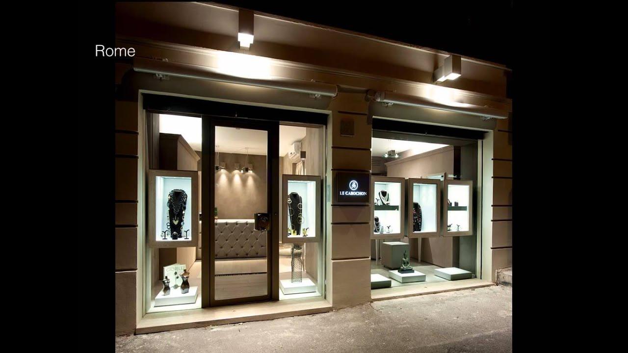 dentro le mura progettazione arredamento gioiellerie