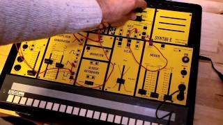 EMS Synthi E Rare Vintage Analog Synthesizer Keyboard Synth A AKS VCS3 Putney DEMO