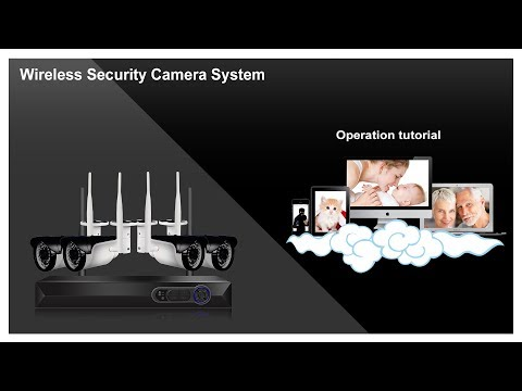Camview Wireless Security System Operation tutorial