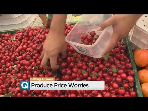 End Of California Drought Doesn't Bring Relief For Produce Prices