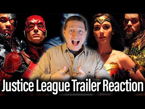 Justice League Trailer Reaction And Review