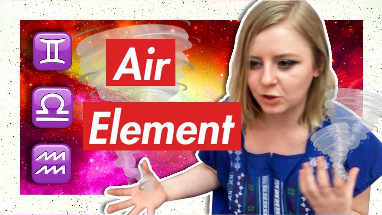 AIR Element Traits: Gemini, Libra, Aquarius [IT'S ALL ABOUT THE ACTION]