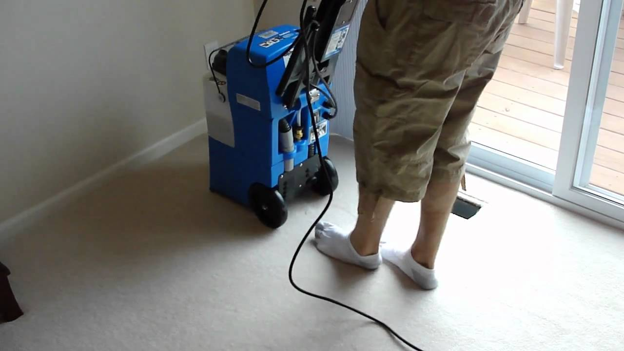 Rug Doctor Mighty Pro   Cleaning Demo   YouTube