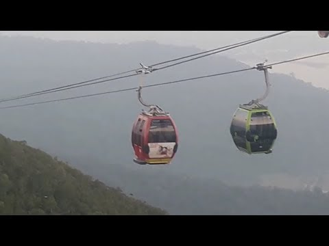 Probe to determine exact cause of Langkawi cable car malfunction