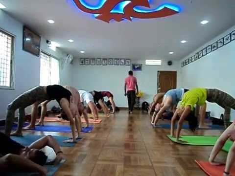 Ideal Yoga Class both for Yoga Teaching and Practice at Home