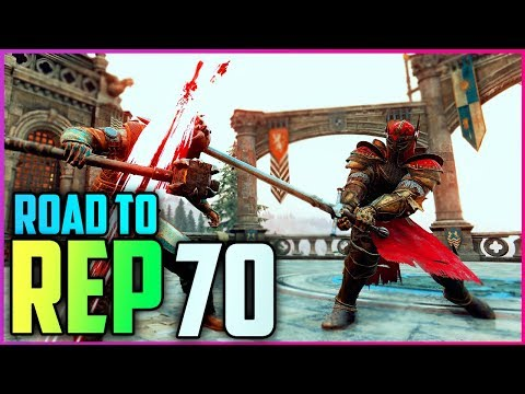 For Honor Road To Rep 70 Warden Ep.#1