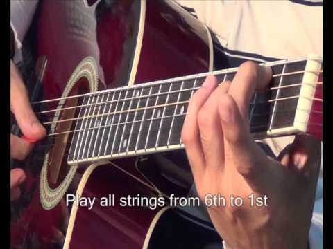 Free Tip # How to play Em7 Chord on Guitar