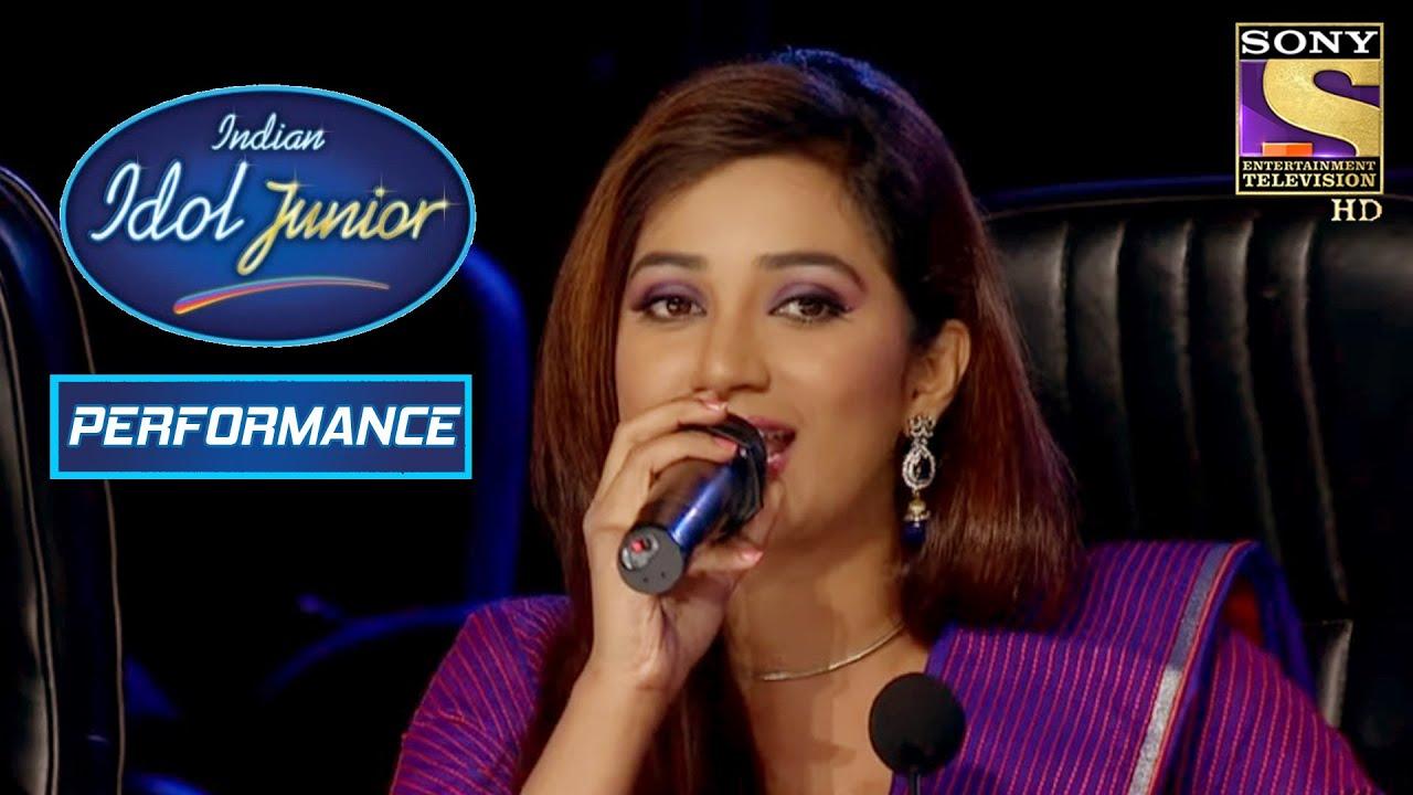 Download Shreya Ghoshal Sings 'Dola Re Dola' One More Time! | Indian Idol Junior