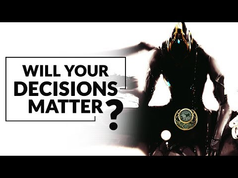 Warframe | Will Cinematic Choices Affect Future Character Development?