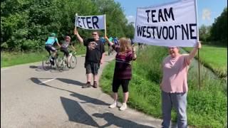 Handen in de lucht voor Peter van Team Westvoorne!