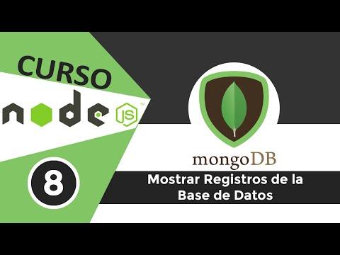 [8] Primera Aplicación Node.Js Y MongoDb - Mostrar Los Registros De La Base De Datos