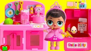 L.O.L. Dolls Kitchen Video and Shopkins Season 8 World Vacation