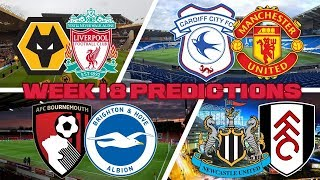 *WEEK 18* YOUR FOOTBALL PREDICTIONS!