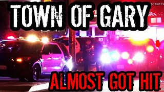 ALMOST GOT HIT BY RUNAWAY CAR LIVE !!!! (WORST TOWN IN AMERICA ?)