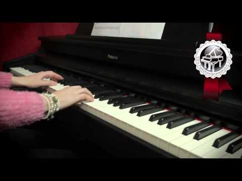 W.A. MOZART - Lacrimosa from Requiem in D Minor (easy piano version)