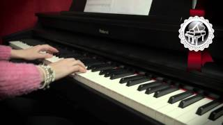 W.A. MOZART - Lacrimosa from Requiem in D Minor (easy piano version)