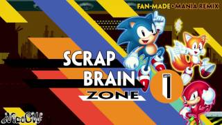 Scrap Brain Act 1 - Sonic Mania Remix
