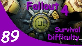 ⚜ Fallout 4 | Survival Difficulty | Day 4 | #FalloutMadnessMode #FalloutMM ⚜ (Part 1)