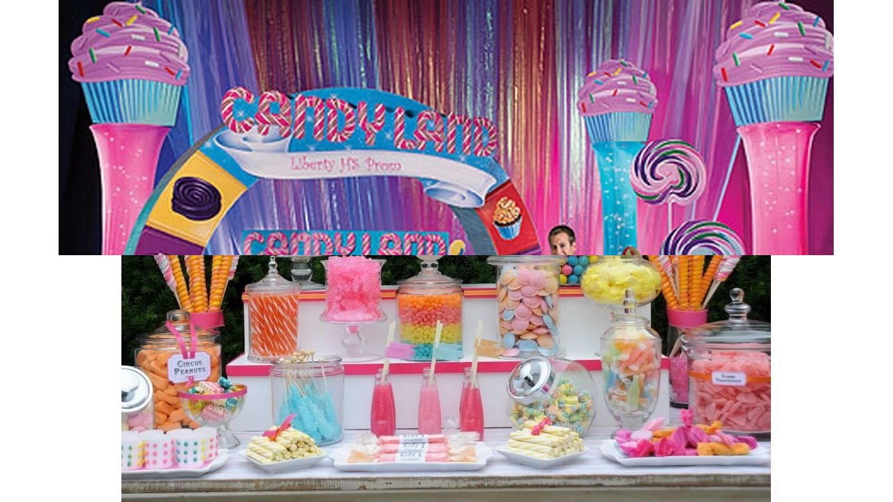Candyland Decorations Ideas Youtube