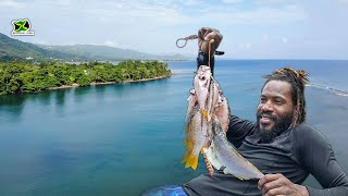 Spearfishing At Rio Grande River Mouth In Portland🐟  Lion Fish, Dog Snappers & Jack - Catch & Cook