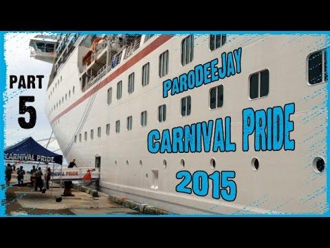 Carnival Pride Cruise Vlog 2015 - Day 5 - Nassau, Bahamas - Walking Tour - ParoDeeJay