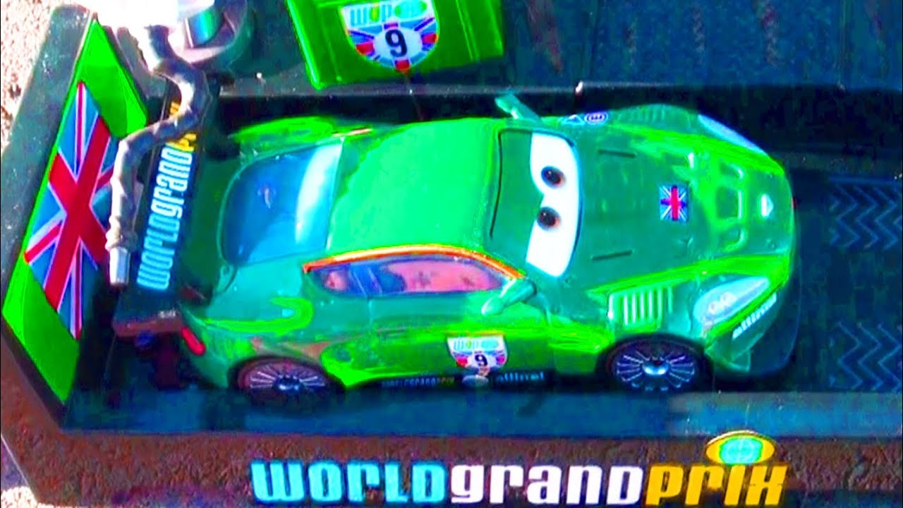 Cars  Race Launcher World Grand Prix Toy