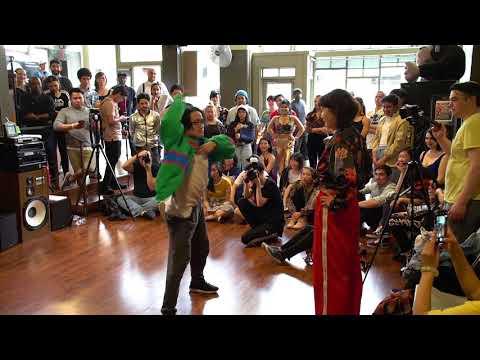Punk & Funk II Waacking OTA Prelims: Phi Voba Seattle vs. Zahra Seattle