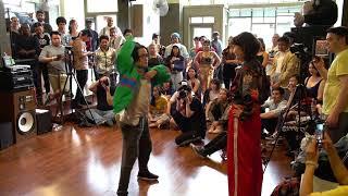 Punk & Funk II Waacking OTA Prelims: Phi Voba (Seattle) vs. Zahra (Seattle)