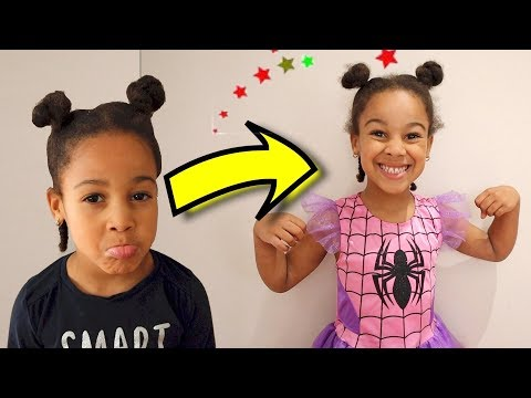 Cali Turns into Spider-Girl | Kids Pretend Play | FamousTubeKIDS