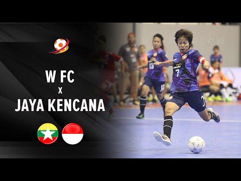 Highlight: W FC Myanmar vs JK Angels Indonesia (3-5) : AFF Futsal Club 2016