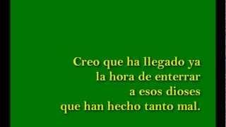 La Canción de los Deseos-Mägo de Oz (con Lyrics-Letra)