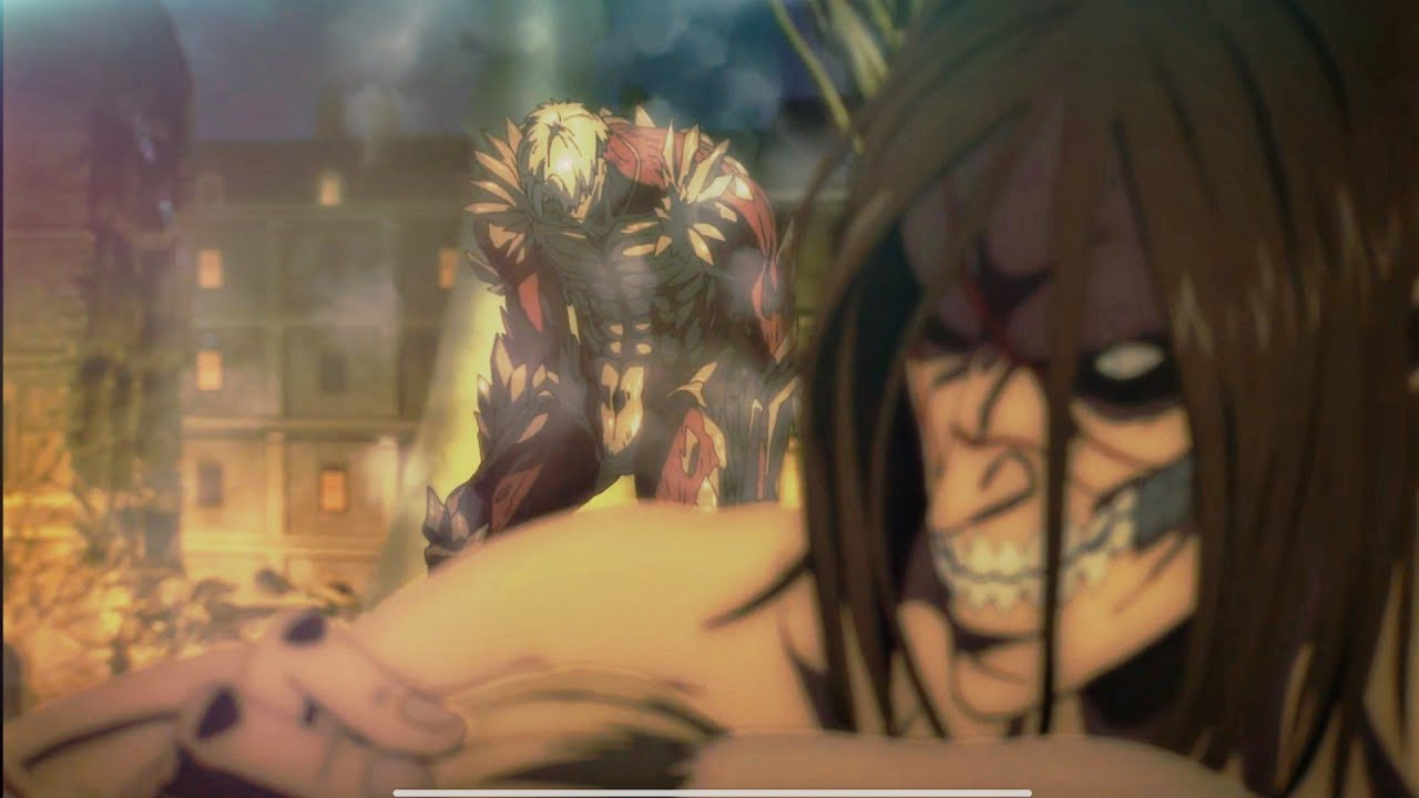 Armin Transformation Attack On Titan Final Season「AMV」- Blood // Water   ᴴᴰ 1080p