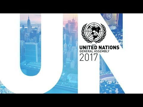 WATCH LIVE: UN General Assembly