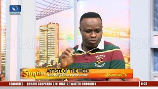 Actor Femi Adebayo On Acting Career Aims PHD Pt1 Sunrise