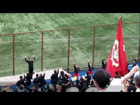 2011-10-01 早稲田大学 【校歌】 歌詞字幕付き