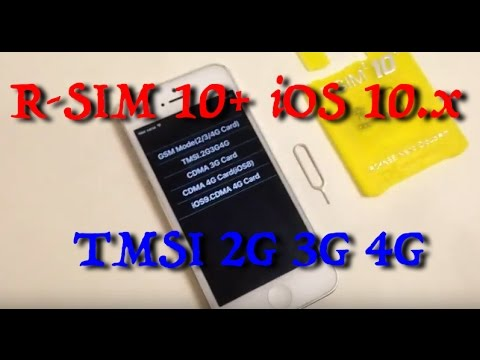 R-SIM 10+ TMSI M1 Setup iPhone Unlock Part #2