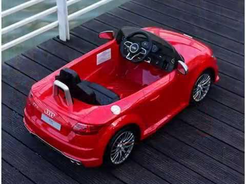 Audi V Kids Electric Bateria Ride On Car Com MP E Controle - Audi 6v car