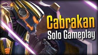 Smite: What's a Solo Lane?- Tremor Tech Cabrakan Solo Gameplay