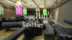 Full Auto Shooting at Stone Hart's Gun Club & Indoor Range