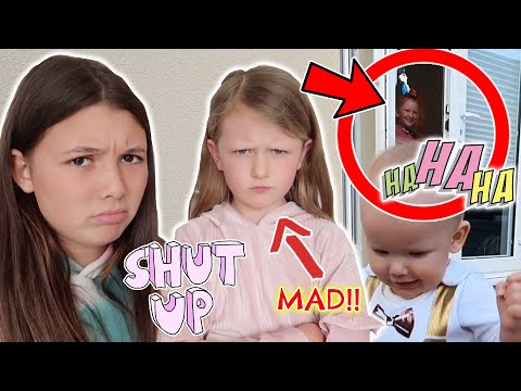 SISTERS CRUEL PRANK ON SIBLINGS! ** NOT HAPPY!! **
