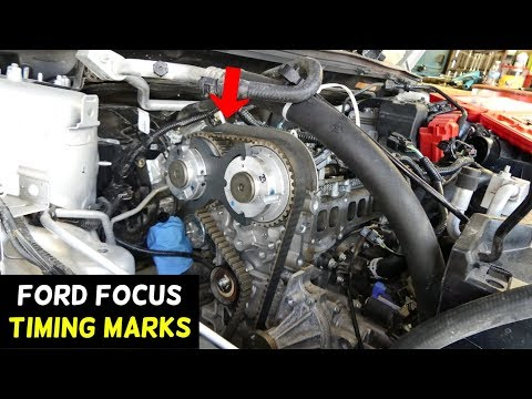 Ford Focus Timing Marks 2012 2013 2014 2015 2016 2017 2018 Timing