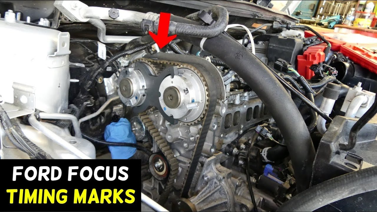 Ford Focus Timing Marks 2012 2013 2014 2015 2016 2017 2018 Fuel Tank Belt