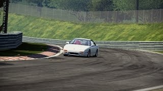 Nissan 240SX - Nürburgring - third person version [Need for speed: Shift 2]
