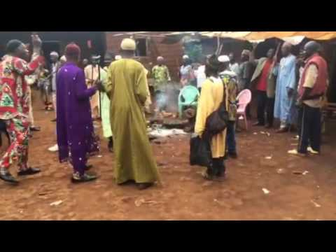 Cameroon men funeral song