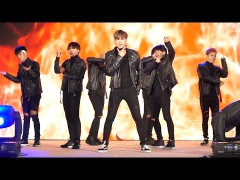 161001 BRUTE cover BTS - Intro + วายร้าย + I NEED U + 뱁새 + FIRE @ Esplanade#3 (BIG FINAL)