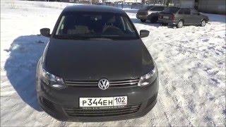 Volkswagen Polo Sedan Trendline 2012. Обзор автомобиля