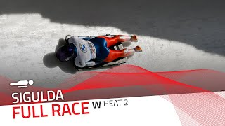 Sigulda | BMW IBSF World Cup 2020/2021 - Women's Skeleton Heat 2 | IBSF Official
